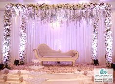 Reception Stage Decor, Wedding Stage Design, Wedding Hall Decorations, Wedding Reception Backdrop, Marriage Decoration, Engagement Decorations, Wedding Mandap, Backdrop Decorations, Deco Table