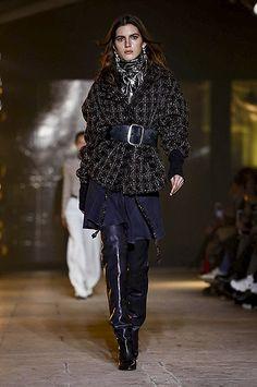 Неделя моды в Париже: Paco Rabanne, Rick Owens и Isabel Marant осень-зима 2017/2018 | СПЛЕТНИК