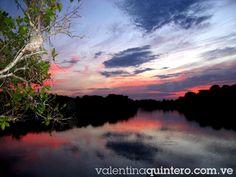 Atardecer en el rio Apure estado Apure,Venezuela.Foto de Valentina Quintero
