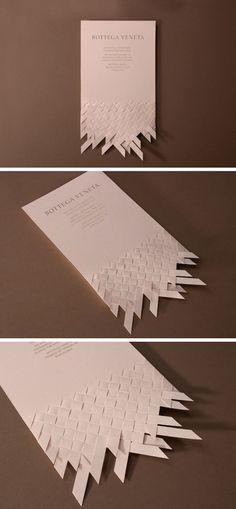 #Invitation design proposal for the opening of Bottega Veneta's flagship store in Barcelona.