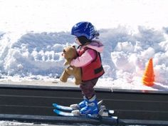Great tips for teaching kids to ski