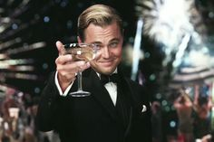 The Great Gatsby / Brooks Brothers  / Leonardo DiCaprio / Great White Shark Style