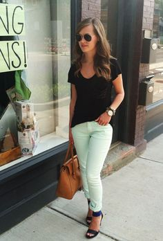 jillgg's good life (for less) | a style blog: my outfit: minty fresh!