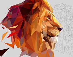 "Check out new work on my @Behance portfolio: ""Polygonal animal""…"