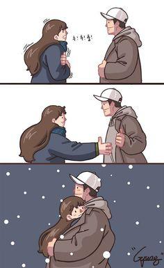 D'adorables illustrations de couple qui vous donneront des frissons (+20 images)