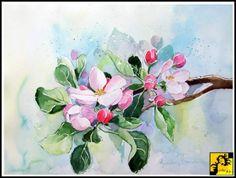 akwarela kwiaty - Szukaj w Google