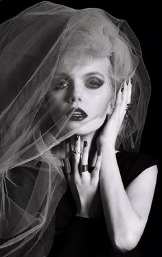 tulle veil #ClippedOnIssuu from 4EVER YOUNG