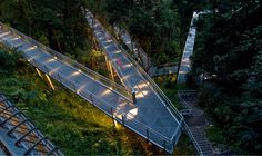 Forest Walk - from the the Alexandra Arch at the HortPark to Blangah Hill Park, Singapore; designed by LOOK Architects Pte Ltd;  one mile long elevated pedestrian walkway