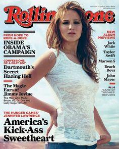 Jennifer Lawrence for Rolling Stone