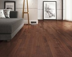 Cherry hardwood flooring - Brazilian cherry wood (Hymenaea courbaril) comes jatoba tree, a species native to South and Central America. Ash Flooring, Cherry Hardwood Flooring, Engineered Hardwood Flooring, Wooden Flooring, Flooring Ideas, Brazilian Walnut Floors, Brazilian Cherry Wood, Tapis Design, Wood Vinyl