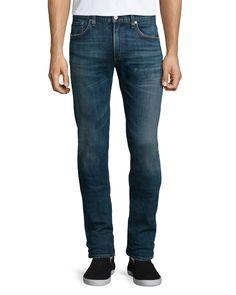 Core Slim Straight Morrison Jeans, Indigo (Blue), Men's, Size: 32 - Citizens of Humanity