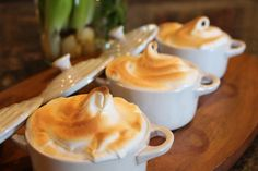 Mini Lemon Meringue Pies in Le Creuset Cocotte