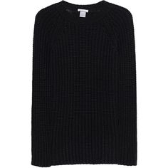 AVANT TOI Maglia Nero // Cashmere chunky knit pullover (£600) ❤ liked on Polyvore featuring men's fashion, men's clothing, men's sweaters, mens cashmere sweaters, mens heavy wool sweater, mens slim fit sweaters, mens chunky knit sweater and mens slim fit cashmere sweaters
