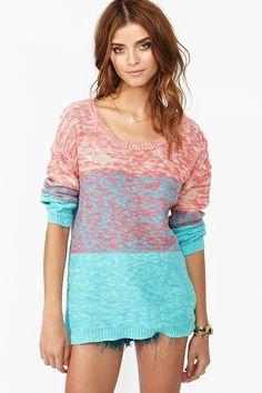 Mixed Stripe Knit