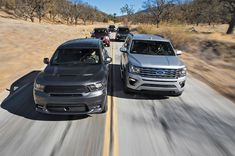 Beasts of Burden: Ford Expedition vs. Chevrolet Tahoe vs. Dodge Durango vs. Toyota Sequoia vs. Nissan Armada - Motor Trend