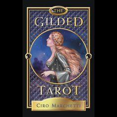 The Guilded Tarot by Ciro Marchetti.  Book and Tarot Deck