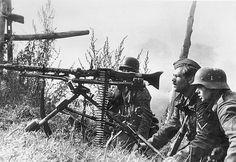MG 34 with heavy machine gun lafayette. Orel, Aug 42