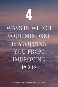 Often when talking about improving PCOS symptoms we think of diet and exercise. But did you know your mindset and the way in which you manage stress are just as important? Find out how to improve your mindset to start seeing results right now!