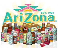 AriZona drinks - been drinking this since it first came out! YUM! #tea #drinks #arizona