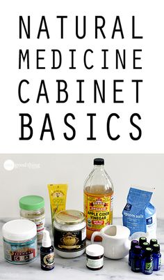 Looking to reduce the number of pharmaceuticals in your medicine cabinet? Learn how to create your own NATURAL medicine cabinet without going into debt.