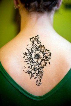 I think I love flower henna the most.