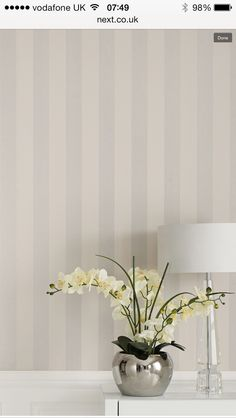 Glitter stripe Next wallpaper Love this!!