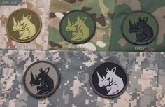 Mil-Spec Monkey has introduced his latest creation, a PVC patch depicting the majestic Rhino.