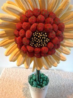 Love Lucia's Spring Sweet Tree Sweet Trees, Diy Bouquet, Raspberry, Fruit, Spring, Gifts, Presents, Raspberries, Favors