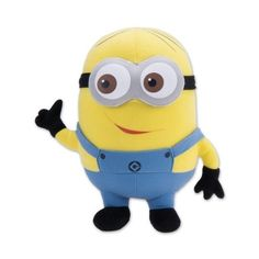 Despicable Me the Movie Dave Minion Plush Toy Doll ($9.80) ❤ liked on Polyvore featuring toys, baby, cartoon, peluches and minion