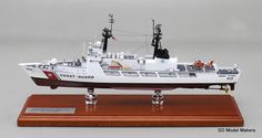 "Recently completed 15"" USCGC Mellon (WHEC 717)"