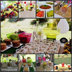 Summer party inspiration with hot dog bar and hot dog recipe suggestions!