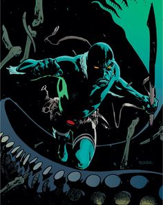 Abe Sapien by Ryan Sook