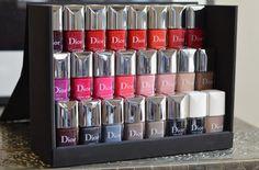 beaute Les nouveaux vernis Dior