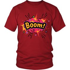 BOOM! Red Cloud T-shirt