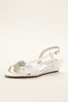 14bb09ac24e Geri Dyeable Wedge Sandal by Touch Ups