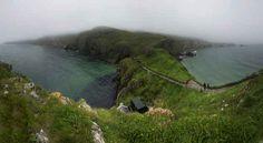 Carrickarede, comt� d'Antrim (Irlande du Nord)  