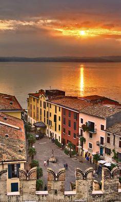 Sirmione am Gardasee  #italien #urlaub #familenferien #vamosreisen