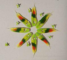 Chris Maynard feather art.