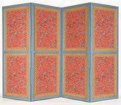 Locust Grove Arabesque (reverse) - Screens by adelphipaperhangings.com