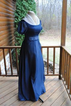 CUSTOM RESERVED 50% payment listing for LORI. Dark green bodice and over-skirt…