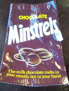 Minstrels don't melt in your hand! 1970s Childhood, My Childhood Memories, Sweet Memories, Galaxy Chocolate, Melting Chocolate, Chocolate Names, Chocolate Biscuits, Retro Recipes, Vintage Recipes
