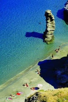 Visit Andros - Greece and see this view Mykonos, Santorini, Beautiful Places In The World, Places Around The World, Around The Worlds, Dream Vacations, Vacation Spots, Places To Travel, Places To See
