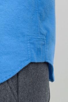 Flannel Shirt - Cornfield Blue   Shirting Mens Trends, Fashion Details, Fashion Design, Mens Fashion, Fashion Outfits, Flannel Shirt, Lounge Wear, Shirt Style, Casual Shirts
