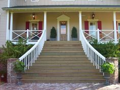 Timeless, Beautiful Front Porch. http://www.hgtv.com/dream-home/inspirational-dream-home-outdoor-spaces/pictures/index.html?soc=pinterest