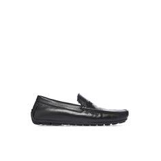 Baldinini Man Collection: Loafers in black deerskin #Baldinini #Loafers