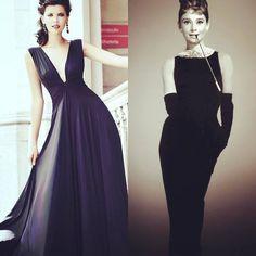 Moderno // Clássico #vestidopreto #weddingfashion