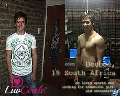 #chat via #luvcircle..Deebee, 19 South Africa..He loves sports and looking for beautiful girl and attractive..http://ow.ly/B1cUp