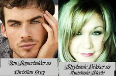 """Casting for """"Fifty Shades Of Grey""""    Christian Grey and Anastasia Steele"""