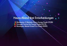 Heute Abend drei Entscheidungen - http://www.eurovision-austria.com/heute-abend-drei-entscheidungen/