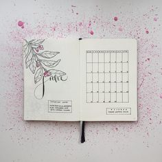 "1,114 Likes, 13 Comments - Federica (@feebujo) on Instagram: ""My Bullet Journal is ready for June, and yours? ⭐️ This is the last month of my second bj and I'm…"""
